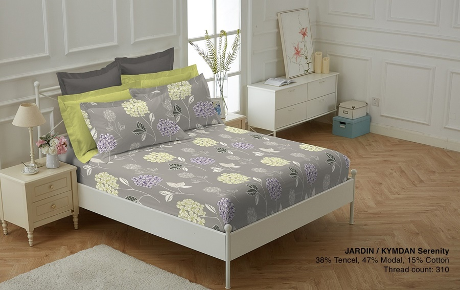 Picture of KYMDAN Serenity Bed Sheet Set